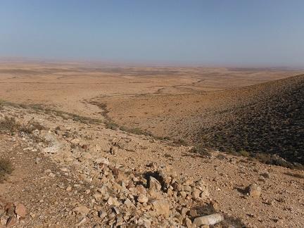 Echt de woestijn in
