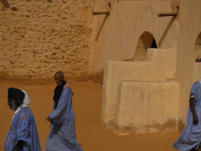 De laatste moskee van Chinguetti