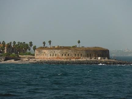 Het oude fort van Ile de Goree