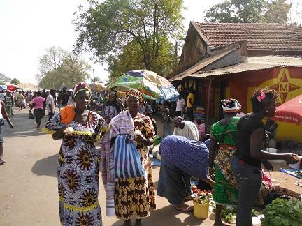 Markt in Bura