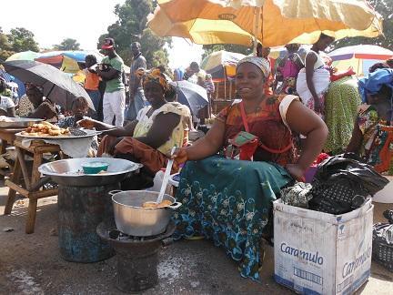 Oliebollen in Afrika