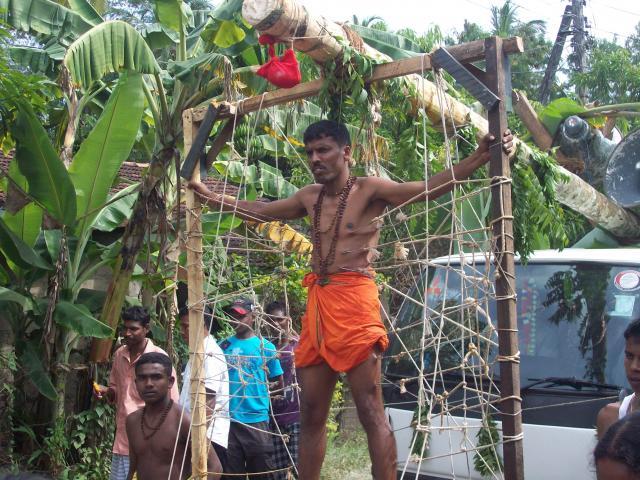 Hindu processie
